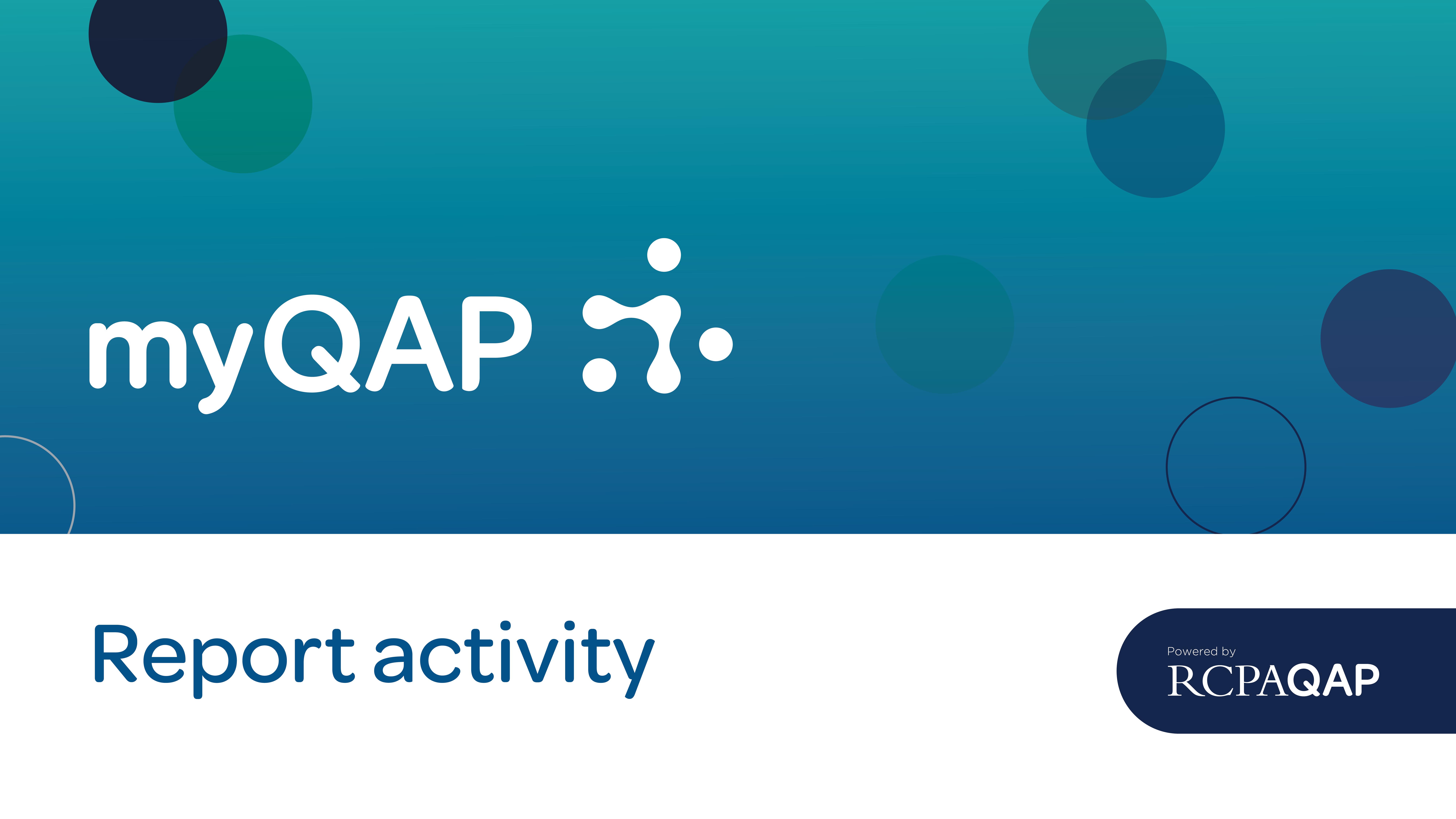 Report Activity